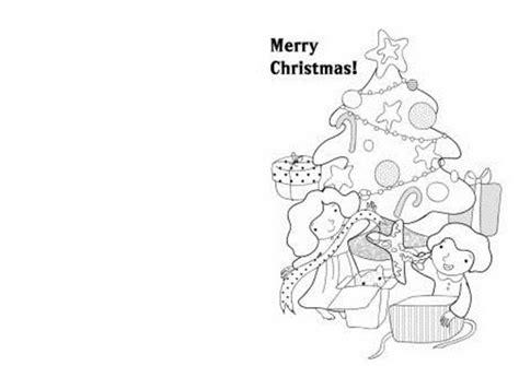printable christmas coloring postcards free printable christmas cards coloring pages 503174