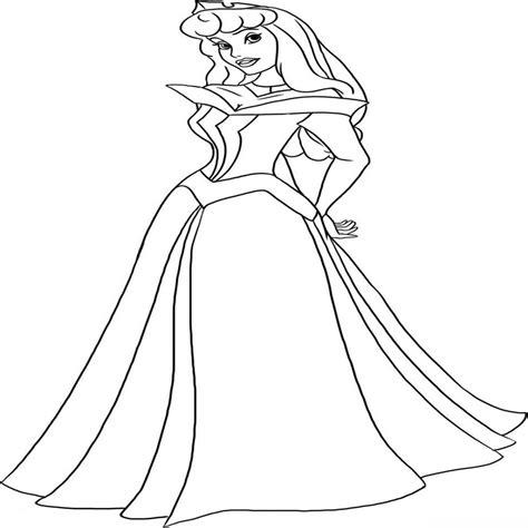 dibujos para colorear gratis de princesas princesa para pintar online o imprimir colorear website