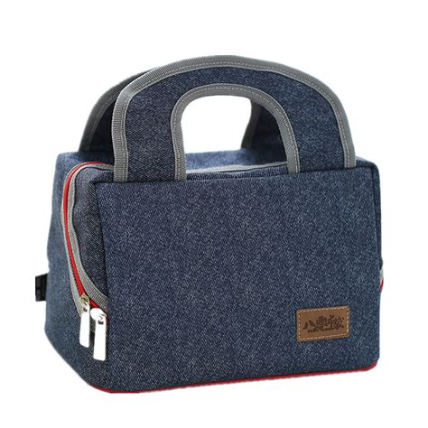 Bag Item denim handbag cooler bag kid picnic bento box