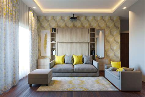 queen size vertical wall bed  sofa india homelane