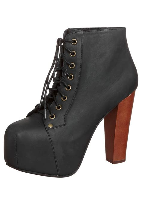 jeffrey cbell lita noir jeffrey cbell lita lace up boots black zalando co uk