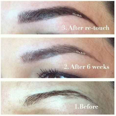 eyebrow tattoo scabbing 17 best images about permanent makeup medispa stuff