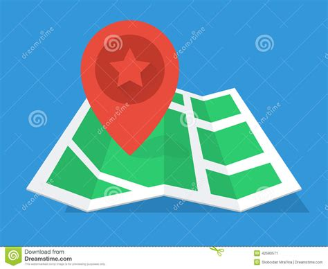 material design icon navigation gps map flat design stock vector image of modern find
