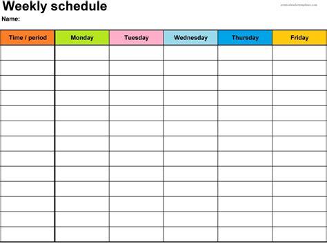 Galerry free printable calendar weekly planner 2018
