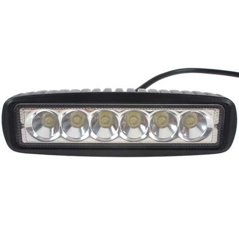 led light bar for boats 1550lm mini 6 inch 18w led light bar as work light for