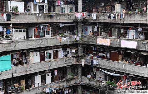 wohnung in shanghai 上海隆昌公寓再现 猪笼城寨 如同古罗马斗兽场 新闻频道 华商网