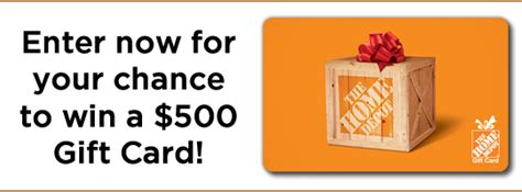 Home Depot Gift Card Deal - dream upgrade sweepstakes myfreeproductsles com
