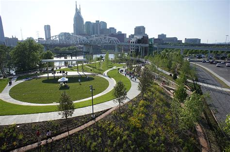 Landscape Architecture Nashville Cumberland Park By Hargreaves Associate 171 Landscape