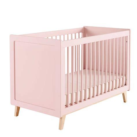 letto neonati letto rosa a sbarre in legno per neonati l 126 cm sweet