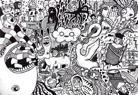 Random Surreal Doodle   VINCENT'S BRAIN JUICE