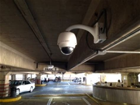 parking garage & parking lot security camera systems nyc