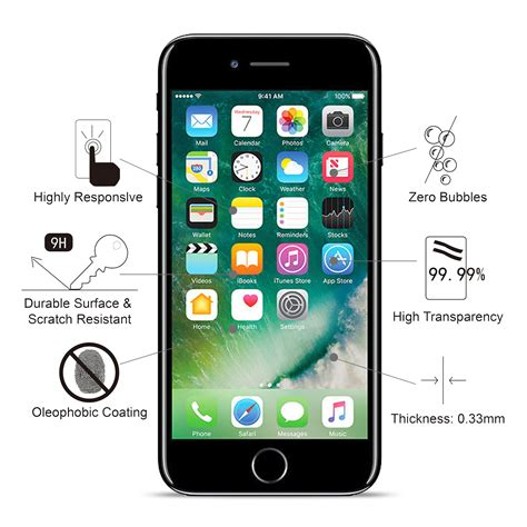 Tempered Glass For Apple Iphone 5 for apple iphone 5 5s se 5c tempered glass screen