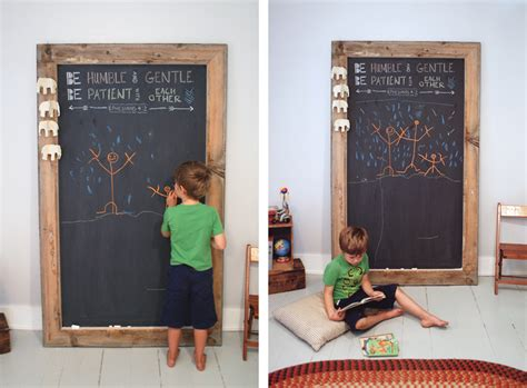 diy chalkboard from picture frame diy chalkboard 187 the merrythought