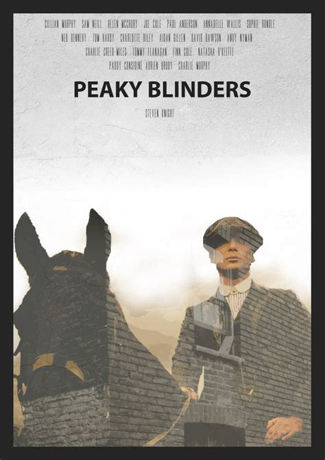 tommy shelby peaky blinders art poster tv posters prints design
