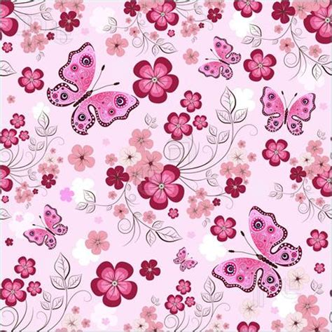 pattern photoshop pink pink flower border pink seamless floral pattern with