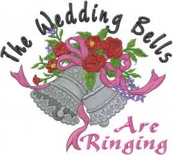 Wedding Bells Are Ringing by Wedding Bells Are Ringing Embroidery Designs Machine