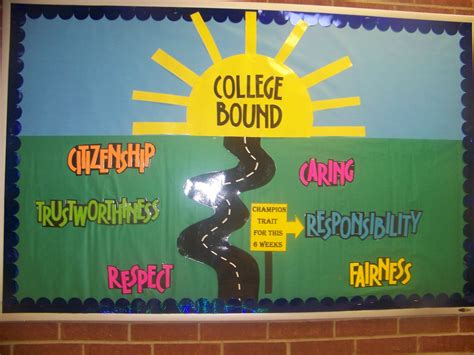 vocational themes exles chion traits bulletin board bulletin boards