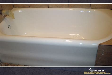 resurface bathtub tub resurfacing the art of resurfacing inc