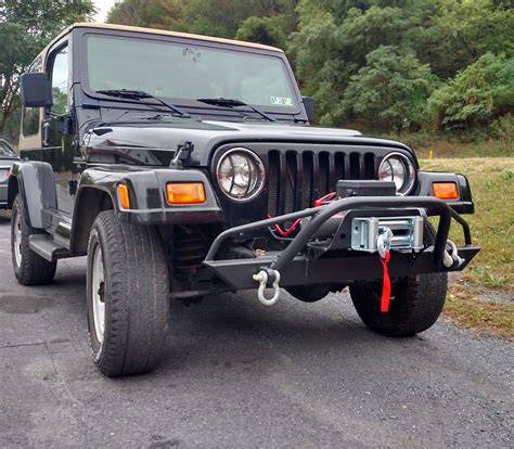 prerunner jeep affordable prerunner winch front bumper jeep cj yj tj lj