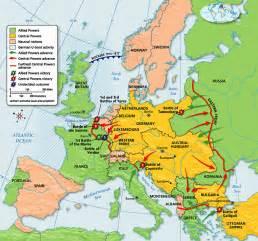 Europe Ww1 Map by Maldenhistoryusii The Great War