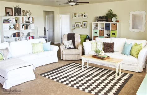family room makeover for 250 honeybear