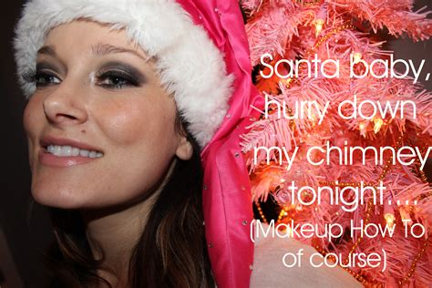 santa baby makeup how to citizens of