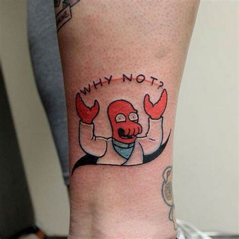 a minds eye tattoo quot why not quot dr zoidberg by paul bachman at mind s
