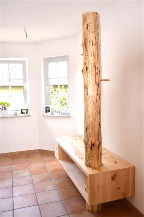Baumstamm Als Garderobe by Holz Sigi Sonstige M 246 Bel