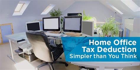 home office tax deduction simpler than you think