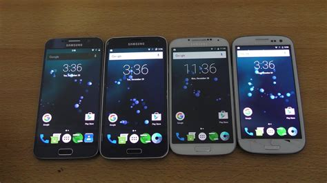 android 6 0 1 samsung galaxy s6 vs s5 vs s4 vs s3 which is faster 4k