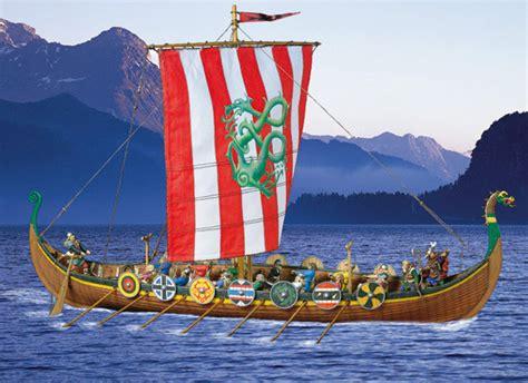 viking long boats viking longship sm s04 54 mm 1 30 series medieval