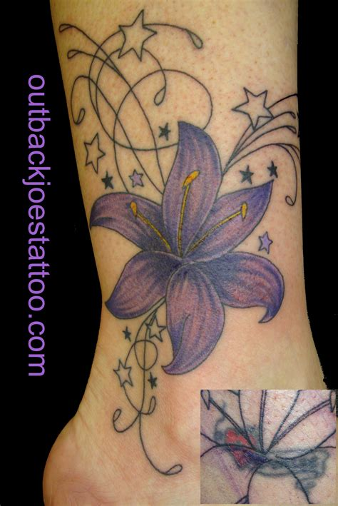 tattoo flower cover ups outback joes tattoos and piercings videos and photos