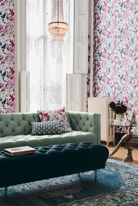 home decor sites like anthropologie home design 2017 vibrant wallpaper design trends to try in 2017