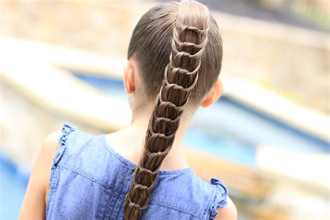cute girl hairstyles knot the knotted ponytail hairstyles for girls cute girls