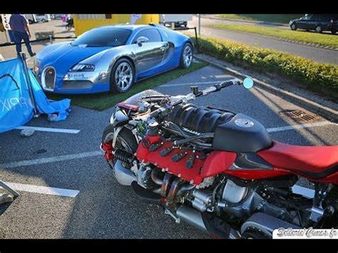 Maserati Vs Bugatti by Lazareth Lm847 Maserati Mc12 Bugatti Veyron Centenaire