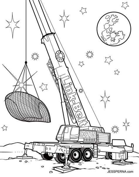 coloring page crane truck crane truck coloring pages coloring home