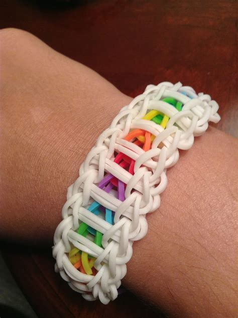Rubber Band Necklace With Loom by 528 Best Crafting With Loom Bands Images On