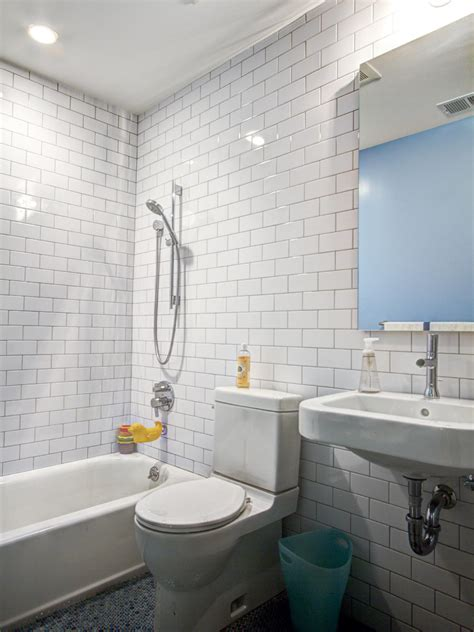 bathroom with subway tiles photos hgtv