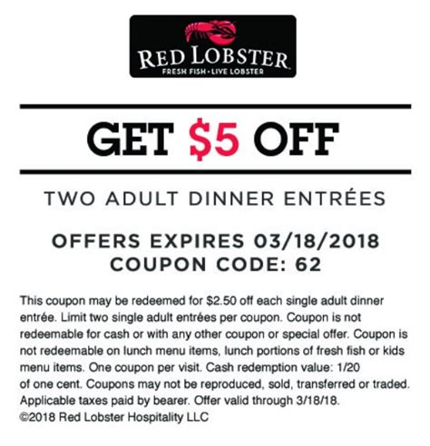 red lobster coupons printable canada