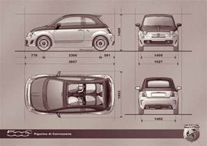 Dimensions Of A Fiat 500 Fiat 500 Abarth Cabrio 2013 Cartype