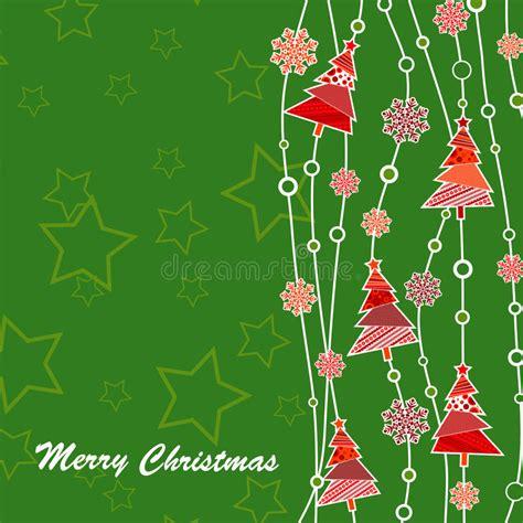 template christmas greeting card stock vector image