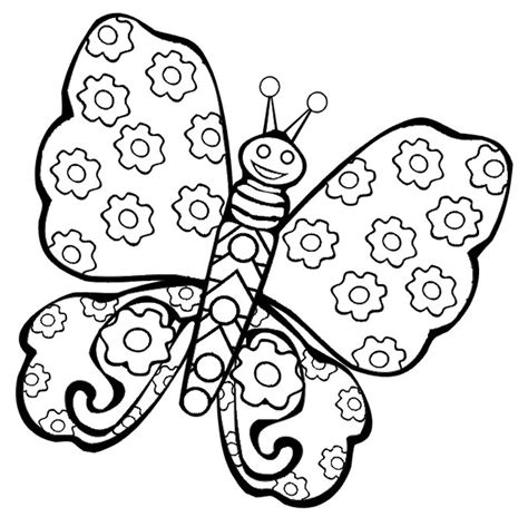 butterfly coloring pages free printable coloring pages for