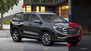 2018 gmc terrain styling interior exterior performance