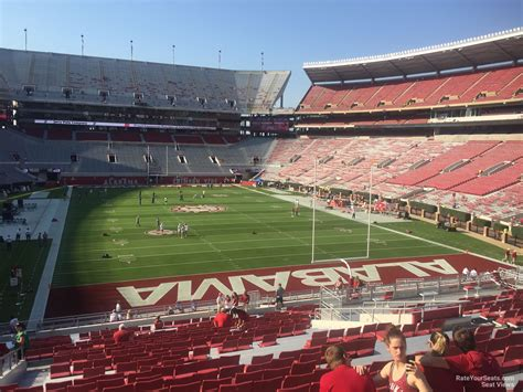 What Is Section 47 by Bryant Denny Stadium Section N6 Rateyourseats