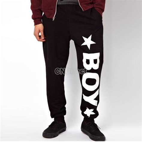 pattern for jogging pants men s women s fit sports star letter pattern harem pants