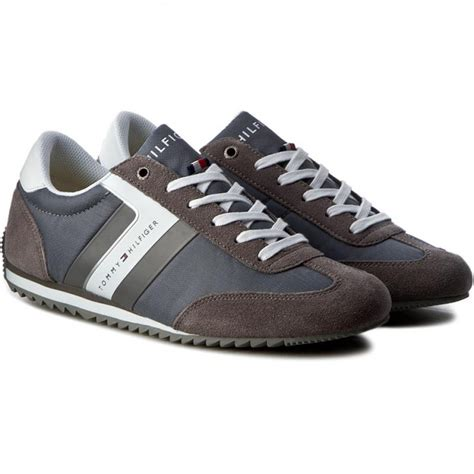 Sneakers Shoes E 039 sneakers hilfiger branson 8c1 fm0fm00612 steel