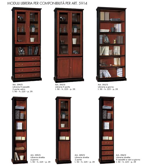 moduli libreria componibile libreria componibile e moduli singoli df mobili classici