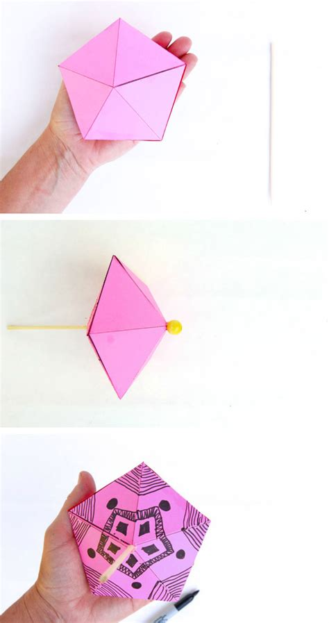 How To Make Paper Toys At Home - simple paper toys paper tops babble dabble do