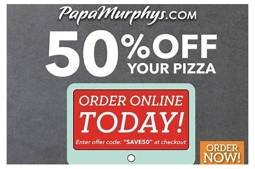 papa murphys coupons text