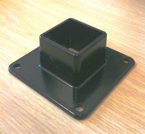 L Post Base Mount ez brackets for fence posts pictures to pin on pinsdaddy